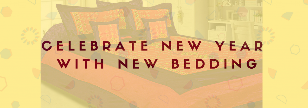 Celebrate New Year with new bedding
