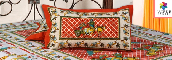Jaipur Bed Sheets