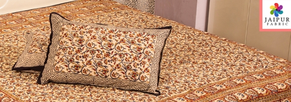 Beautifully Intricate Hand Made Authentic Indian Bed Sheets From The Heart  Of Jaipur