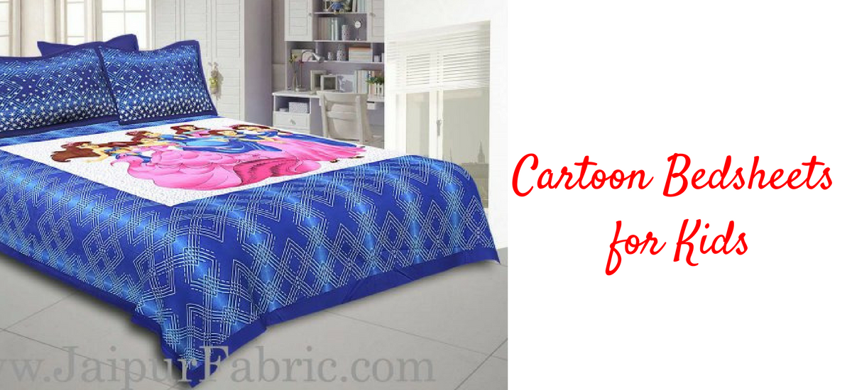 cartoon bedsheet