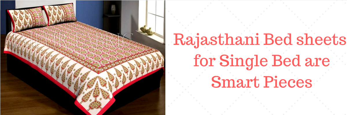 rajasthani single bedsheets