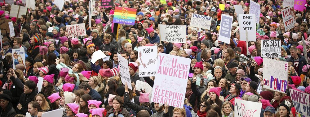 Women's March : The World United for a Cause