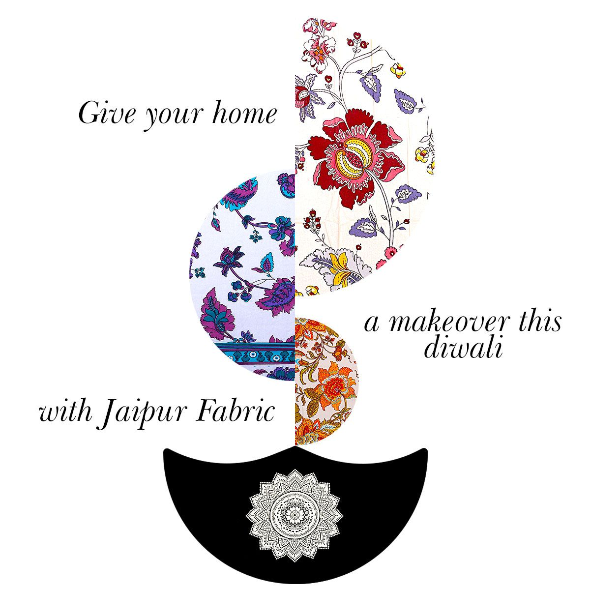 Give your Home a Makeover this Diwali with Jaipur Fabric