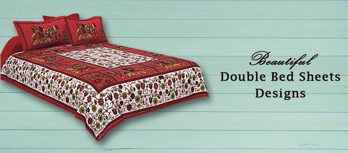 cb24038787 Buy Online Block Printed Handmade Double Bed Sheets at Jaipur Fabric