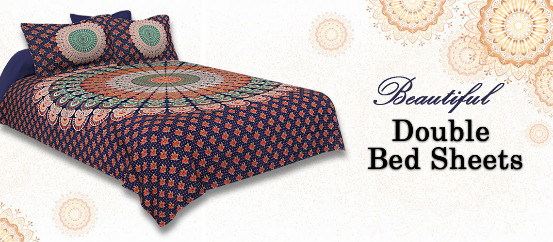 9bcd1898dd7 Buy Handmade Block Printed Bed Sheets Online - Jaipur Fabric