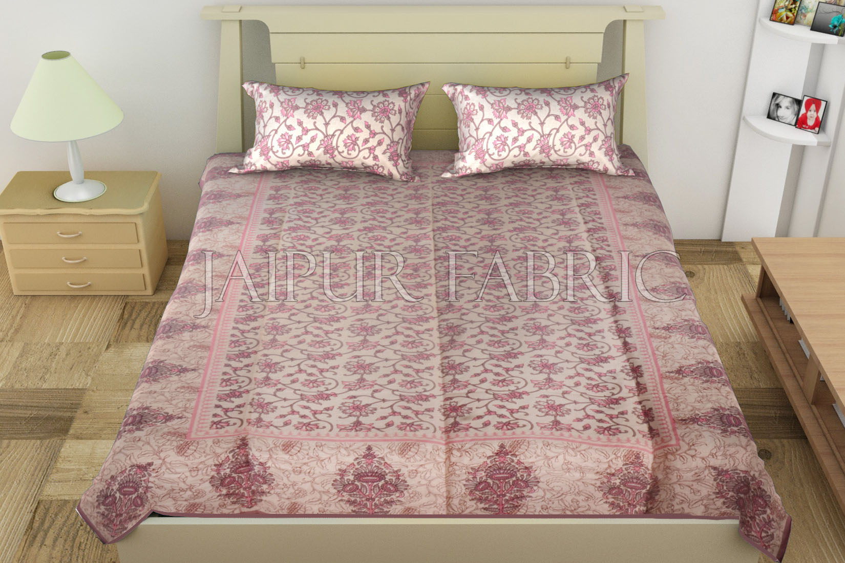 ... Bed Sheets Are More Than Other Types, They Are Available In The Market  In Printings Like Floral Print Double Bed Sheet, Zari Embroidered Double Bed  ...