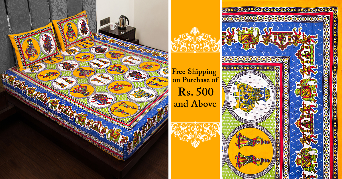 ... Jaipur Is The Most Popular One Because Of The Fabric They Use Not Only  In Their Cloths But Also For Bed Sheets, Double Bed Sheet, Cushion, Covers,  ...
