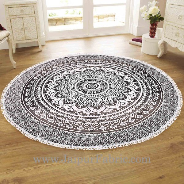 Black and White Mandala Roundies