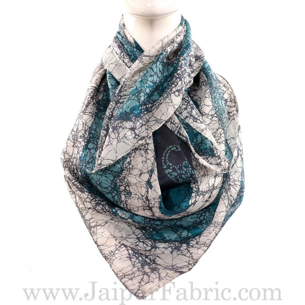 Silk Scarf Unique Look