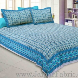 Vibrant Geometry Double Bedsheet