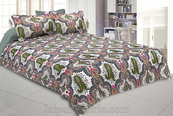 Double Bedsheet Twill Cotton Breath Easy Nature Love Greenwood