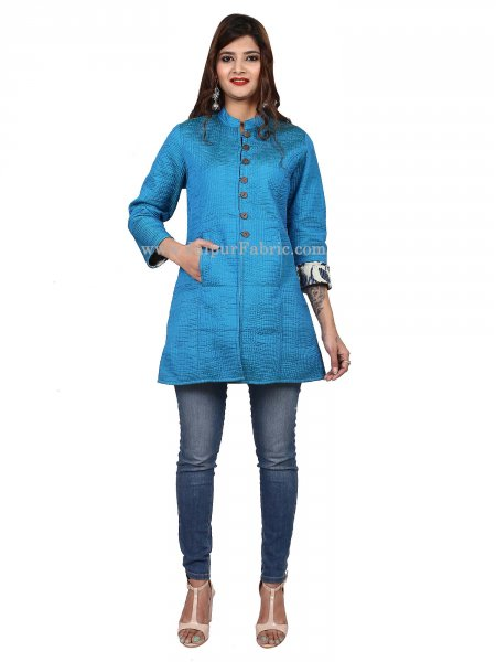 Women Firozi Jacket