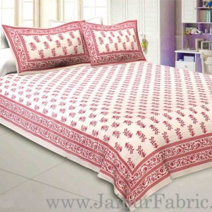 Floral Bliss Double Bedsheet