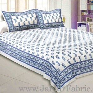 Kingdom Of Blue Double Bedsheet