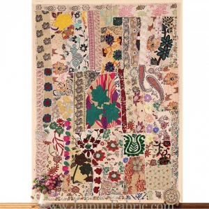 Embroidered patchwork with applique work Wall Decor Wall Hanging