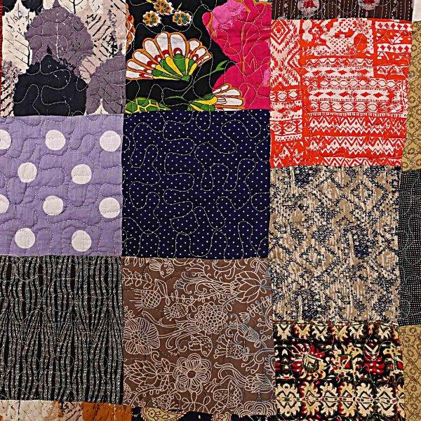 Patchwork AC Quilt/Blanket Soft Designer Single Bed - Multicolor (Multi)