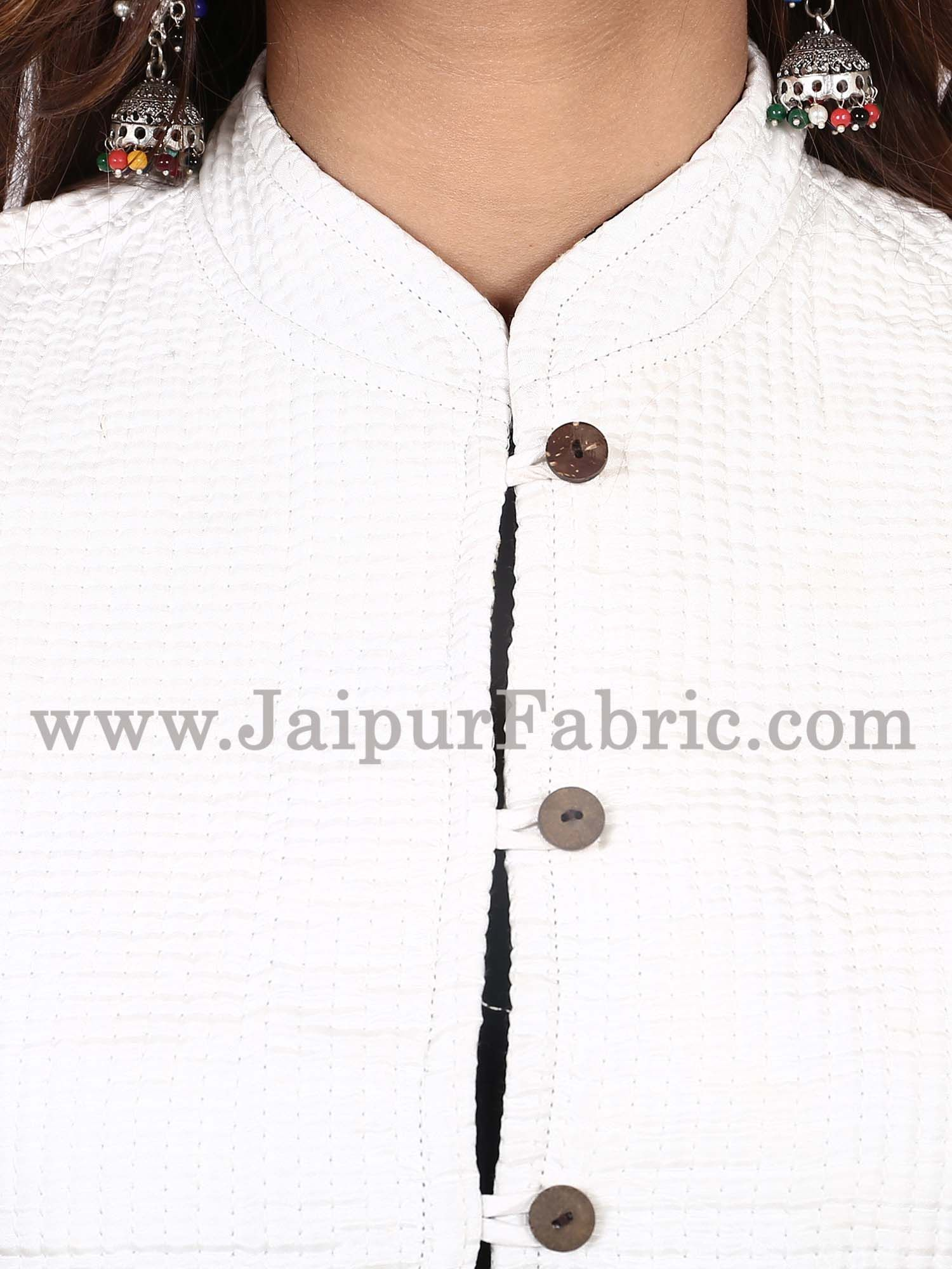 Women White  Jacket