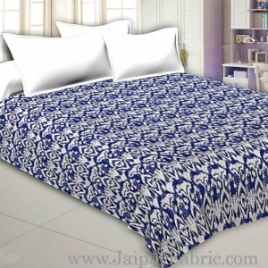 Jaipuri Light Weight Multi Checkered  Double Bed Quilt Razai