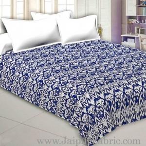 Jaipuri Light Weight Multi Checkered  Double Bed Quilt Razai