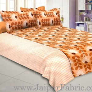 Awesome Apricot Double Bedsheet