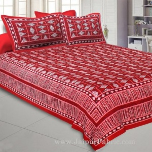 Dainty Diamond Double Bedsheet
