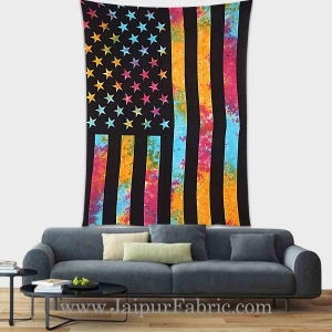 Flag tapestry wall hanging and beach throw