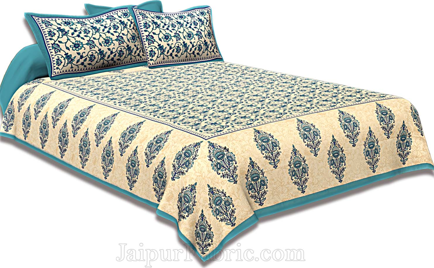 COMBO109 Beautiful Multicolor 4 Bedsheet + 8 Pillow Cover