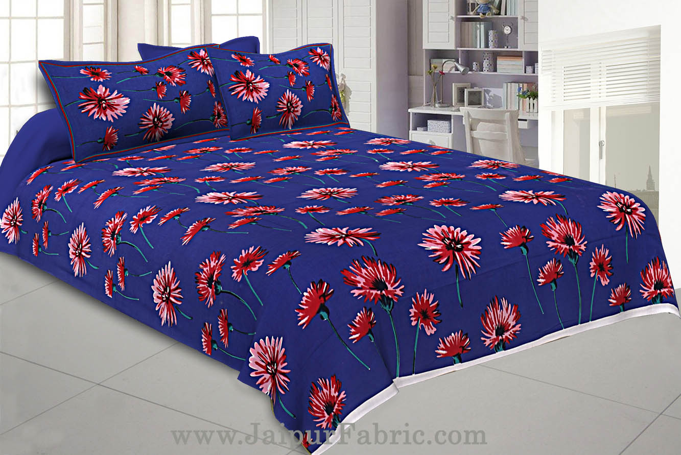 Combo111 Beautiful Multicolor 4 Bedsheet 8 Pillow Cover