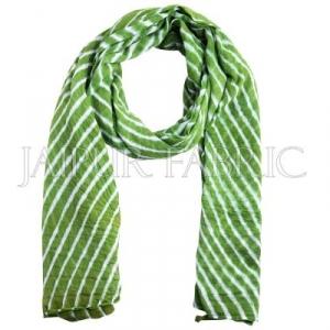 Green Lahariya Stole
