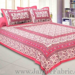 Vibrant Vibes Double Bedsheet