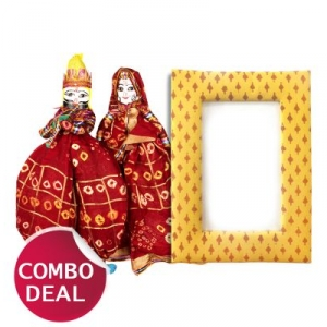 COMBO3 - Set of Handmade Puppets and Cushioned Frames