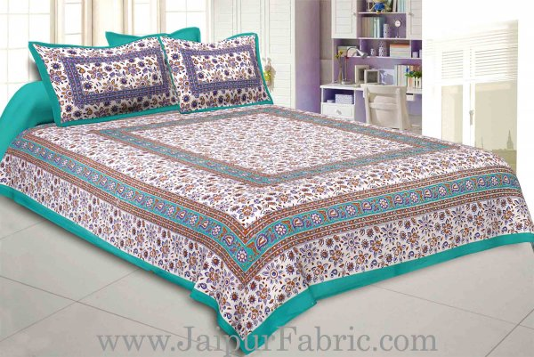 Sparkling Touch Double Bedsheet