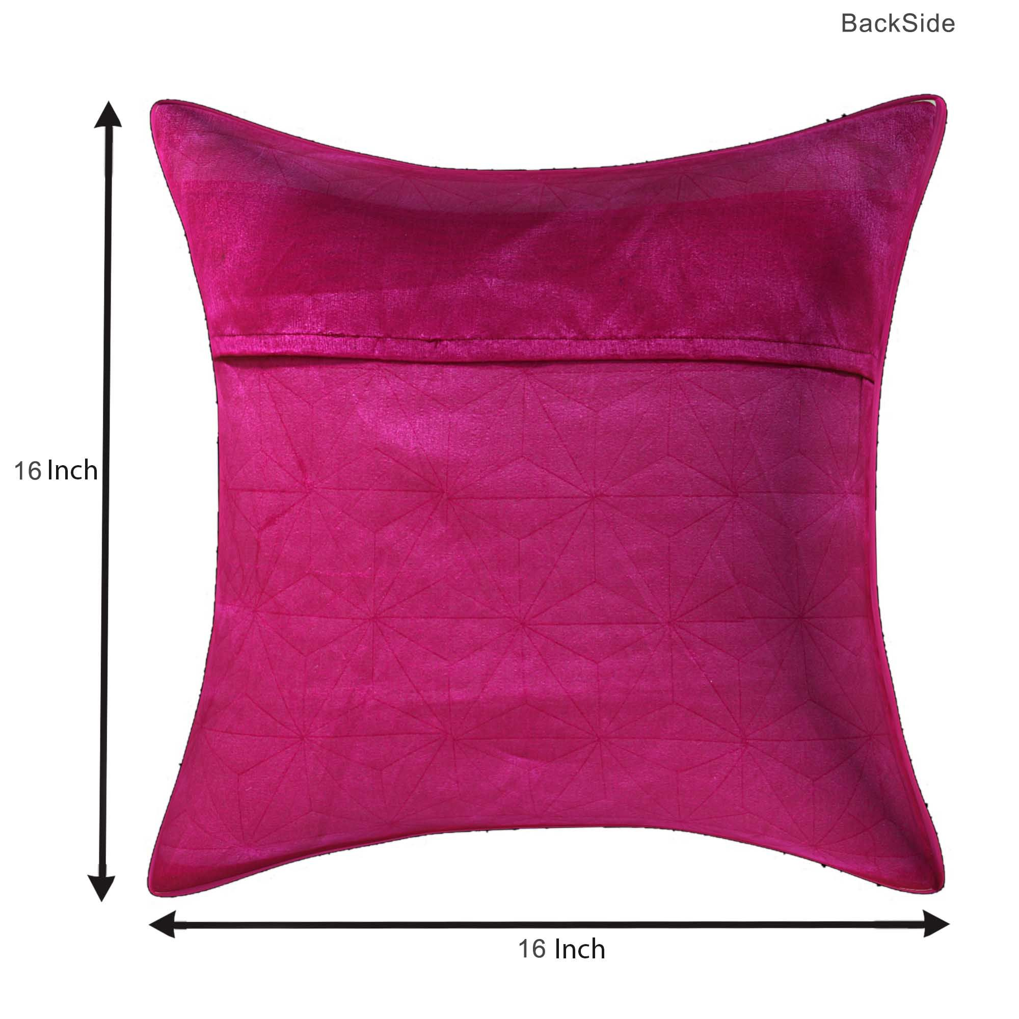 Rani Color stitched design Cushion cover