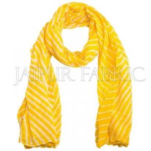 Yellow Lahariya Stole