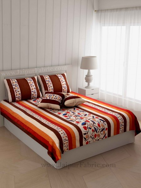 Magnificient Motif Silk Double Bed Cover