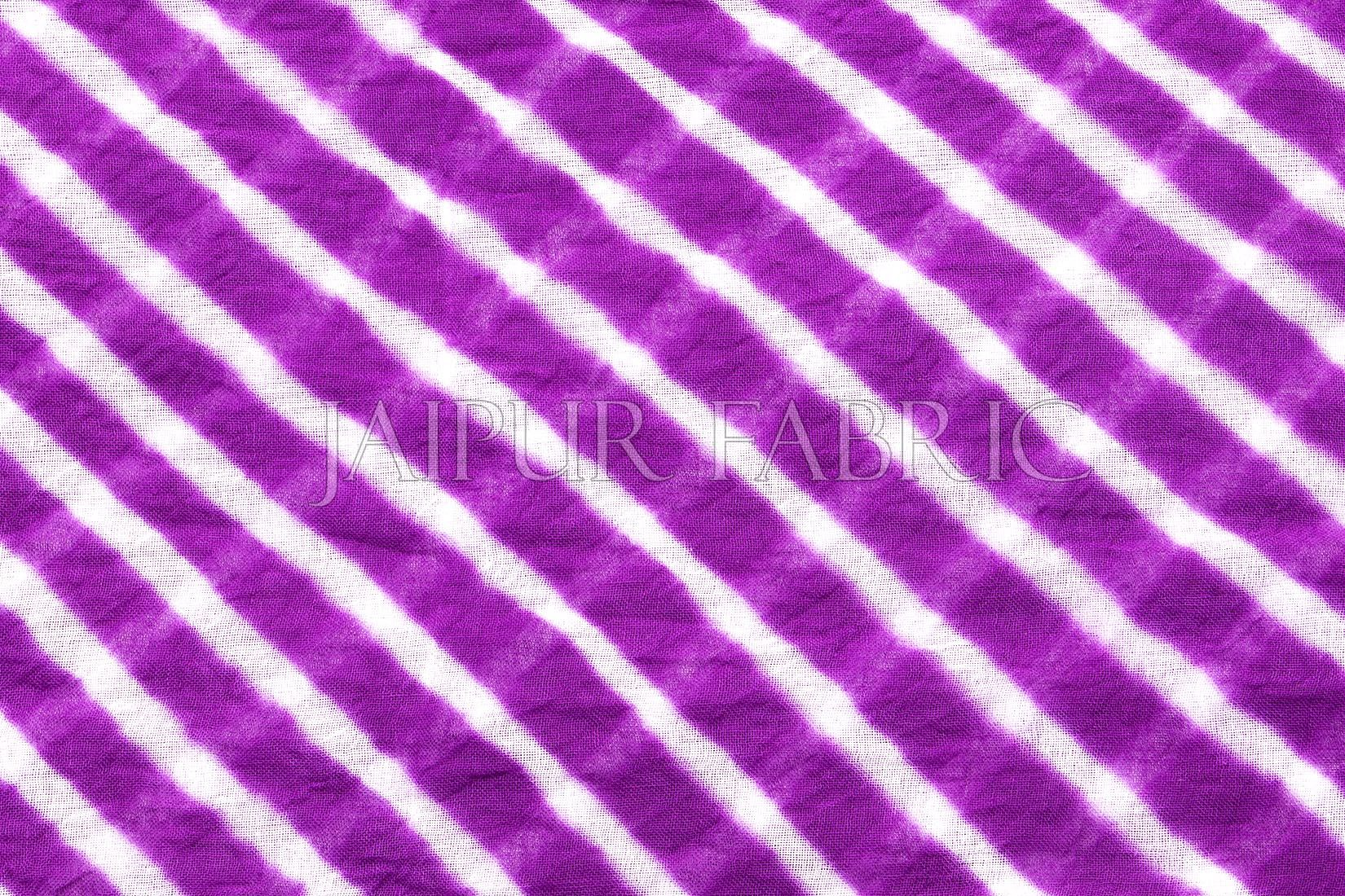 Purple Lahariya Stole