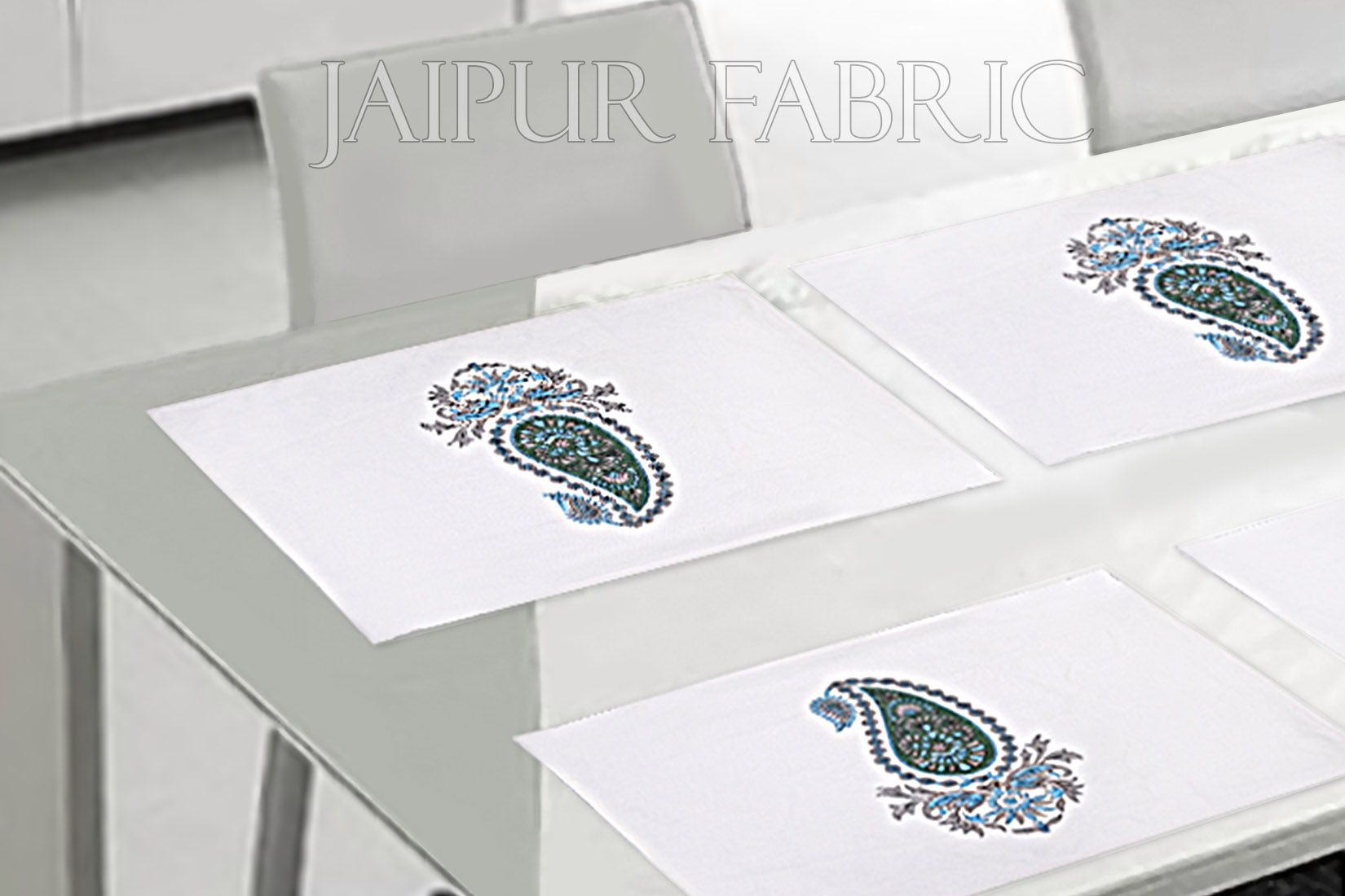 Keri Design Block Print Table Mat