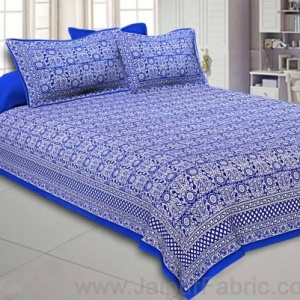 Royal Blue Pleasing Paisley