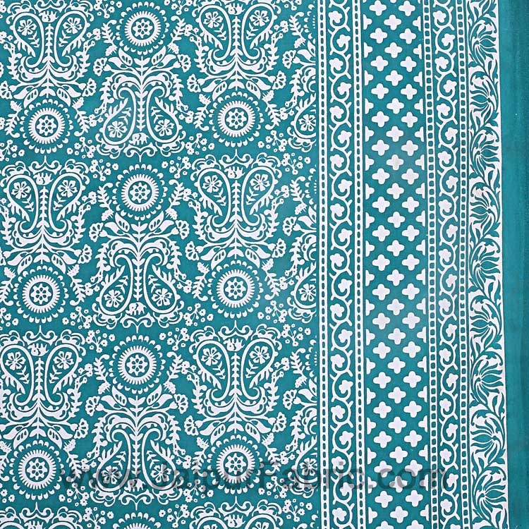 Sea Green Pleasing Paisley