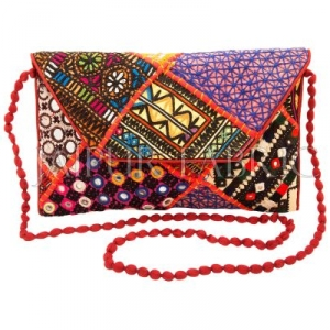 Hand Made Patchwork Clutch