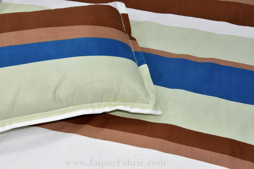 Super Sober Premium Poly Cotton Double Bedsheet