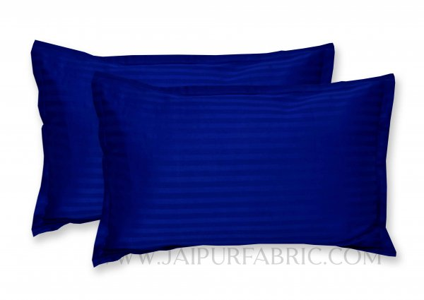 Blue Color Pillow Cover Pair
