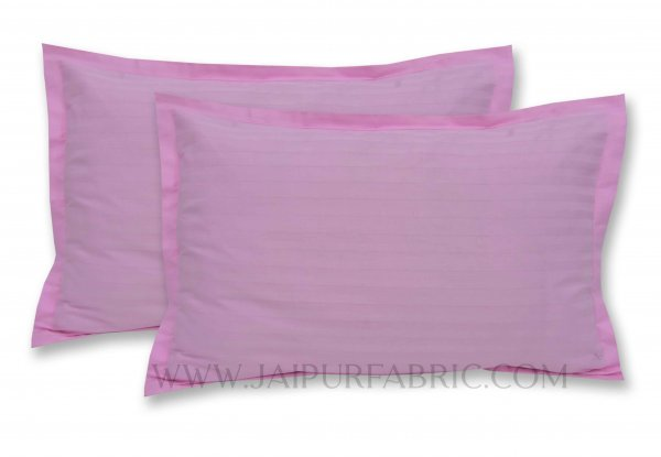 Pink Color Pillow Cover Pair