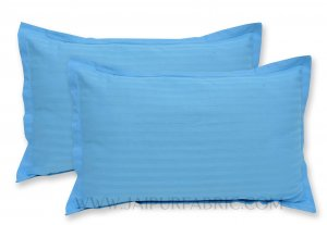 Sky Blue Color Pillow Cover Pair