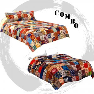 Bedsheet Comforter Combo