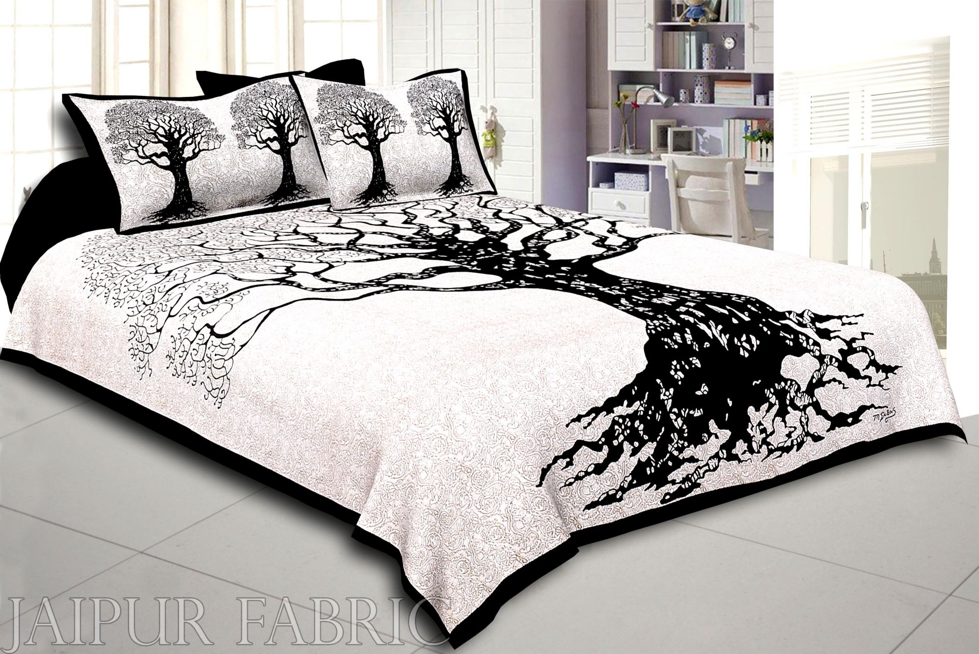 COMBO105 Beautiful Multicolor 4 Bedsheet + 8 Pillow Cover