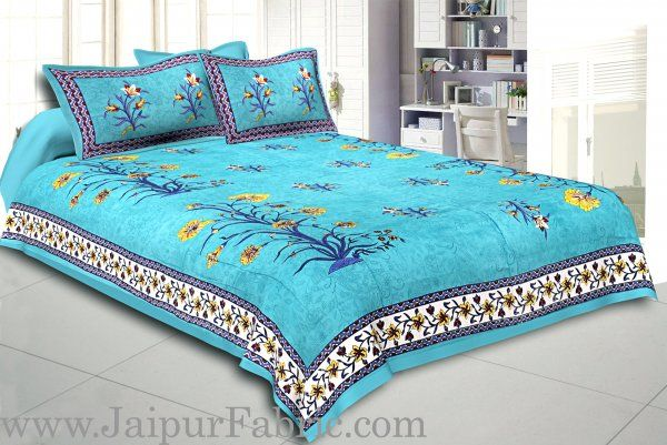 COMBO118 Beautiful Multicolor 4 Bedsheet + 8 Pillow Cover