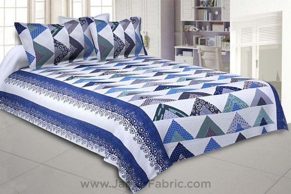 Keep it Up Blue Double Bedsheet