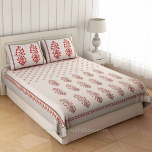 Morning Glory Double Bedsheet
