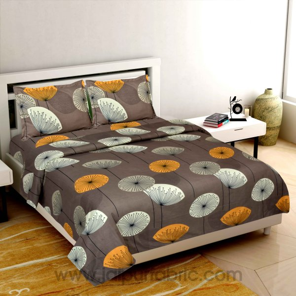 Round Tree Super-soft Double Bedsheet